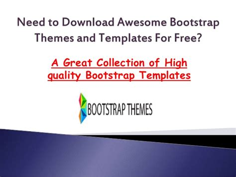 bootstrap themes presentation need to download awesome bootstrap themes and templates