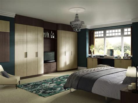 Fitted Wardrobes With Tv Space by Fitted Wardrobes With Tv Space Bedroom Design