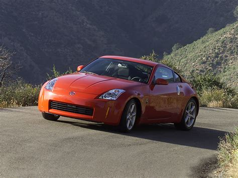 orange nissan 350z nissan 350z sunset orange 1024x768