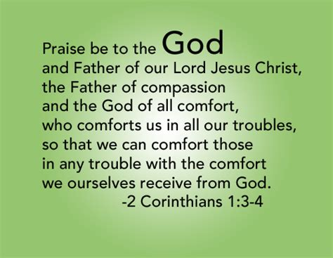 corinthians comfort who comforts us in all our troubles stroke of faith