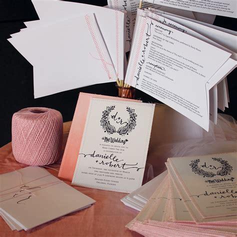 pink wedding invitations wedding invitations for rustic wedding chic