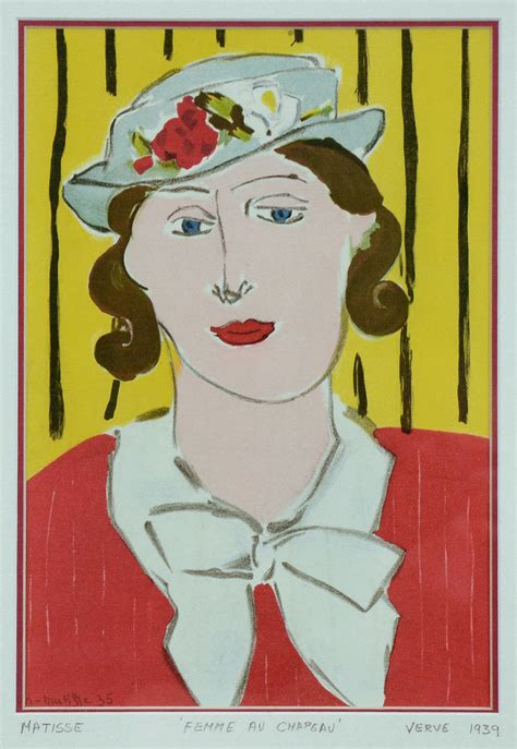libro henri matisse drawings henri matisse femme au chapeau for sale badger and fox gallery