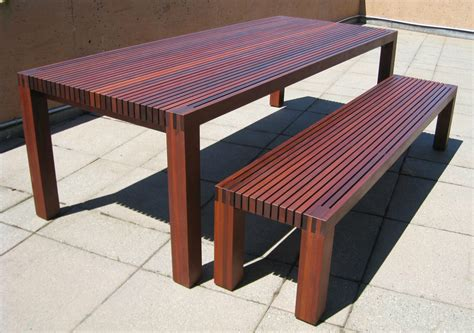 outdoor dining bench outdoor dining table plans