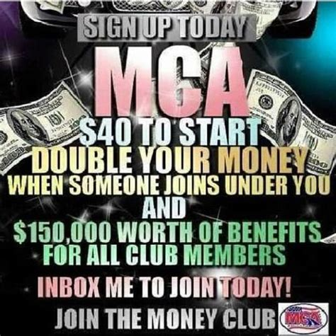make money from home with great benefits mca has been