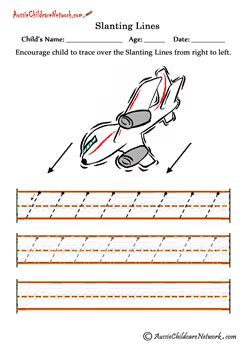 pattern writing slanting lines slanting lines worksheets right to left aussie