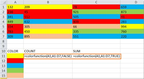 excel background color how to count and sum cells based on background color in excel
