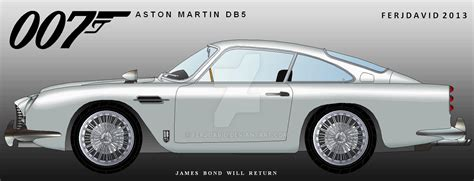 aston martin db5 connery bond 007 connery aston martin db5 by ferjdavid