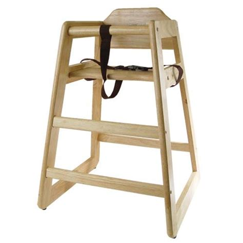 restaurant high chair wooden restaurant style high chair child seat wood color ebay