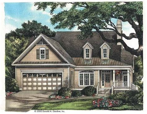 eplans cottage house plan eplans cottage house plan country charm 1687 square