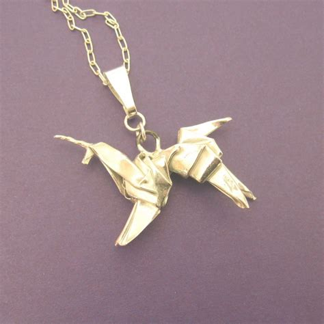 Origami Unicorn Blade Runner - silver origami unicorn pendant blade runner allegro arts