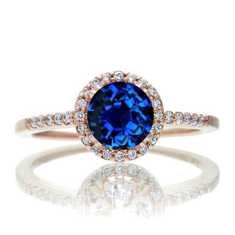 1 5 carat classic sapphire and vintage