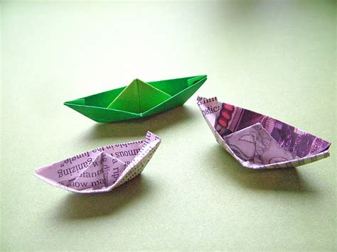 How To Make Paper Boat Hats - small world land day 10 paper hats boats and boxes
