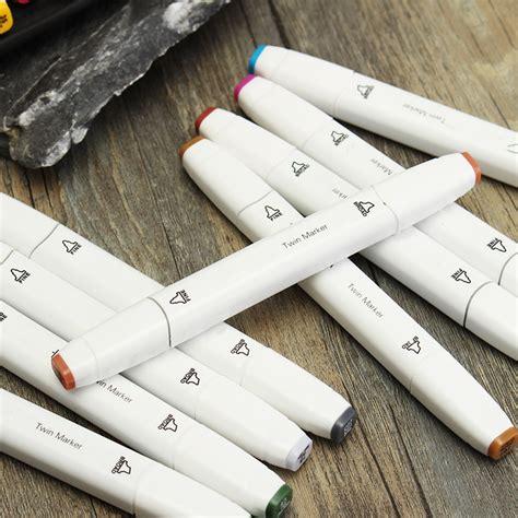 anime art marker double headed sketch alcohol marker pen set 80 colors anime art marker double headed sketch alcohol