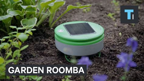 Garden Roomba This Roomba For Your Garden Can Be Your Warrior
