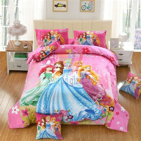 disney five princess 7pcs twin full queen size comforter