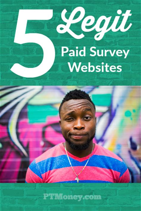 Paid Surveys Sites - legitimate paid survey sites