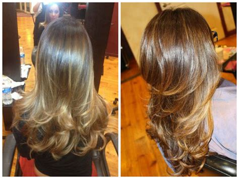 light brown highlights on dark hair balayage for light brunettes