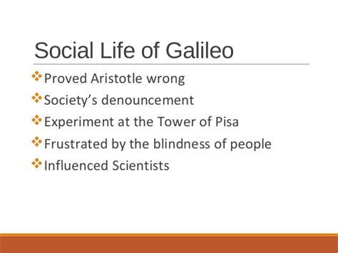 biography of aristotle and galileo galileo galilei biography