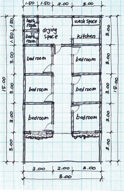 house lay out boarding house plans