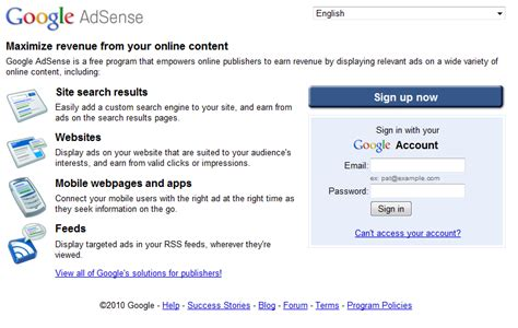 adsense sign up internet tips and tricks and updates google adsense sign