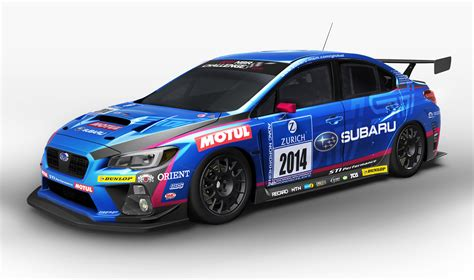 subaru wrx race 2015 subaru wrx sti based race car revealed