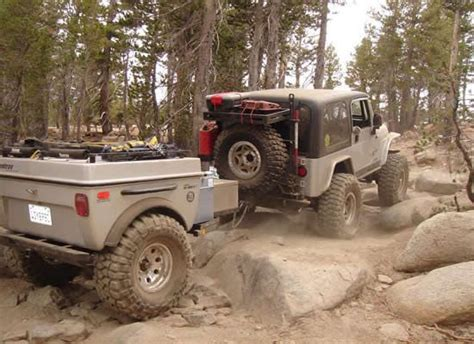 jeep offroad trailer extreme cing vehicles jeep trailers off road