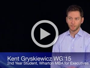 Kent Mba Program by Changing Careers During Wharton S Emba Program Wharton