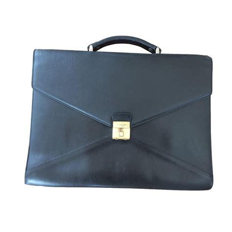 porte document serviette lancel noir 4814780