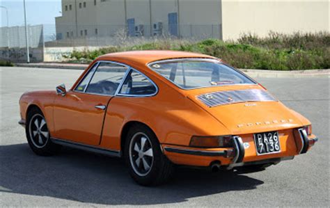 vintage orange porsche flat6 power vintage porsche 911