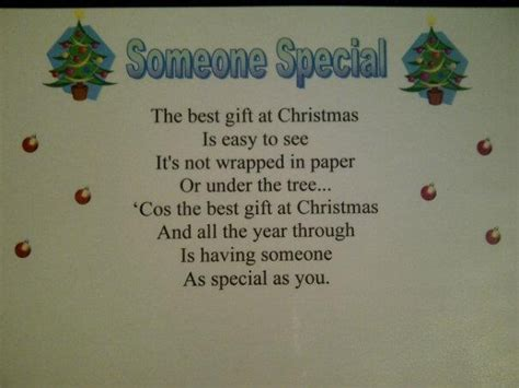 the best christmas gift poem gift poem craft ideas poems gifts and children