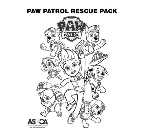 paw patrol birthday coloring pages paw patrol coloring page rescue pack paw patrol party