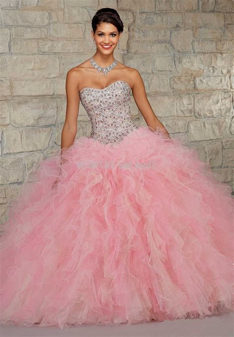 Pink List White white and pink quinceanera dresses 2015 naf dresses