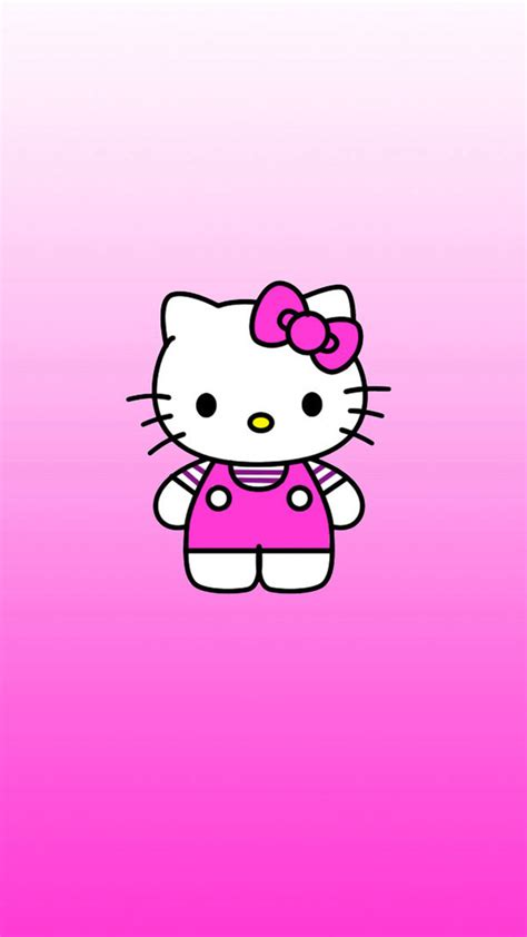 hello kitty apple wallpaper tap and get the free app girlish hello kitty pink cute