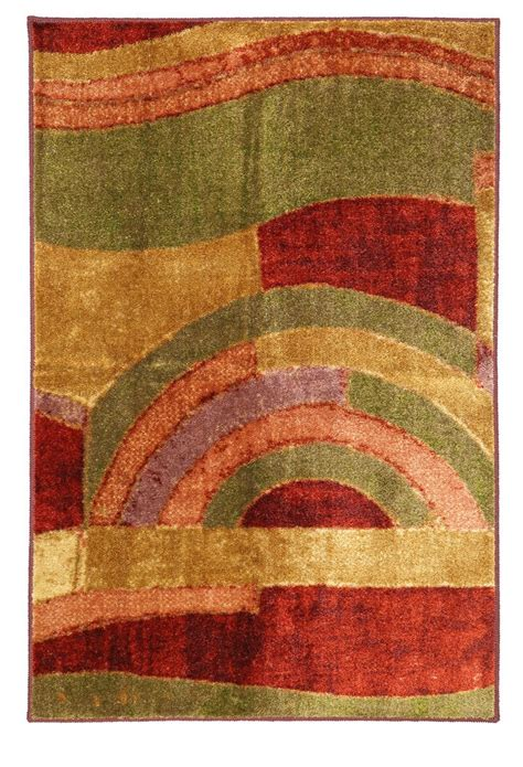 Picasso Area Rug by Mohawk Home Area Rugs New Wave Picasso Wine 2 6x3 10