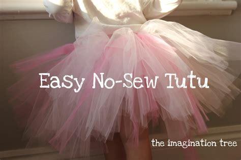 How To Make Handmade Tutus - easy no sew tutu the imagination tree