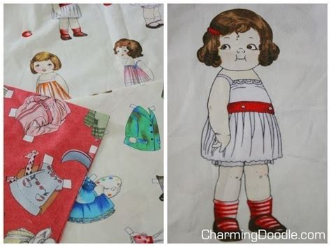 Make Paper Dolls - make fabric paper dolls 183 how to make a doll accessory