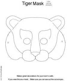 printable childrens mask templates fox mask template animal masks for printable