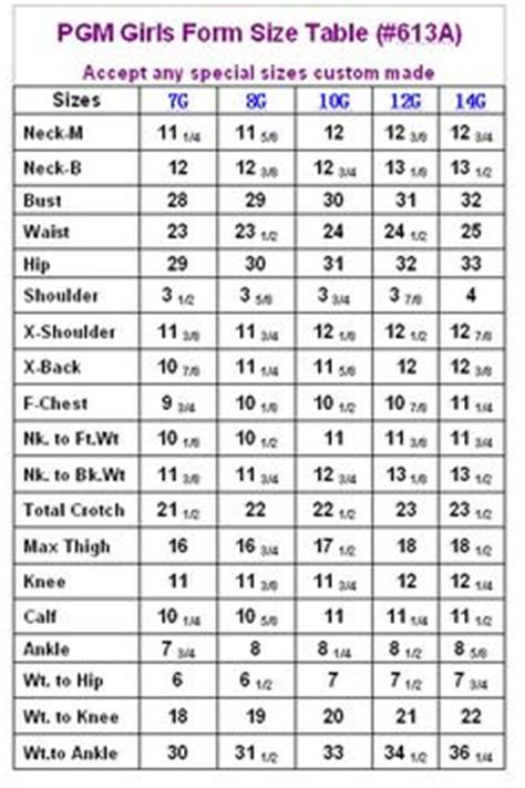 fashion doll size chart 1000 images about clothing size charts on