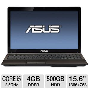 Asus K53e Intel I5 2450m 2 5ghz Laptop Review asus k53e bbr17 refurbished notebook pc 2nd generation intel i5 2450m 2 5ghz 4gb ddr3