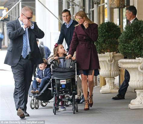 trump home brand ivanka trump dons chic coat and high heels from her own