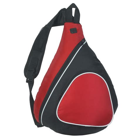 school specialty sling backpack polyester 13 in w