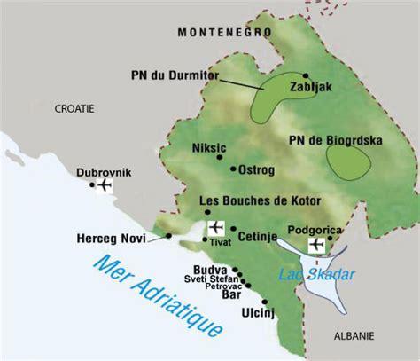 sejour montenegro informations sur la destination