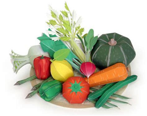 Kirin Papercraft - kirin vegetable papercraft paperkraft net free