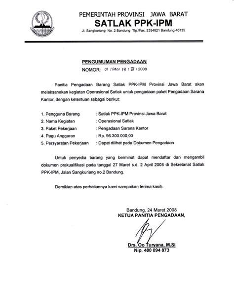 contoh surat tugas kantor