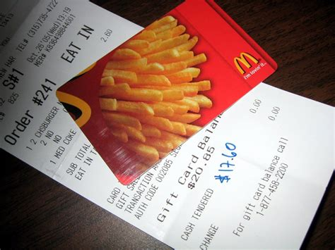 Mcdonalds Com Gift Card - mcdonald s gift certificates philippines lamoureph blog