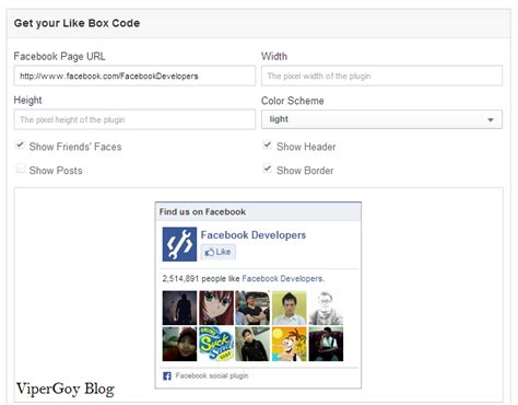 membuat robot like facebook cara membuat kotak like facebook di blog vipergoy blog s