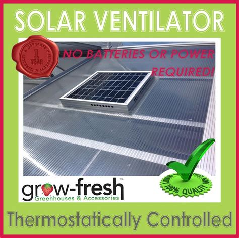 greenhouse thermostat fan control solar greenhouse fan with thermostat bing images