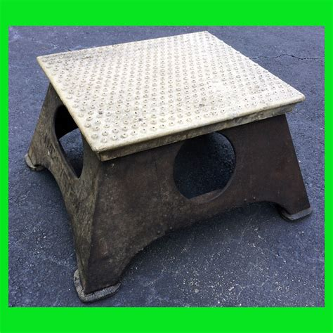 Railroad Step Stool by New York Central System Railroad Boarding Step Stool Conductor What S It Worth