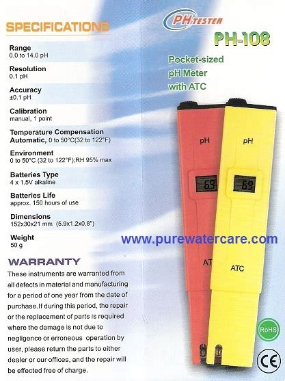 Alat Tes Ph Air Digital ph meter