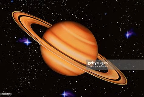 pictures on saturn saturn artwork of saturn seen against a starfield saturn